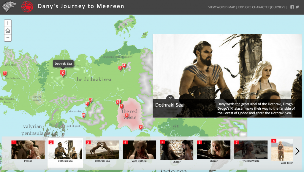 GOT Story Map
